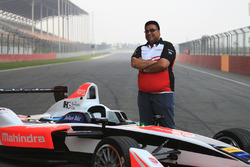 Dilbagh Gill, Teambesitzer von Mahindra Racing