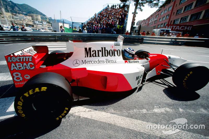 McLaren y Mercedes empezaron en 1995 una relación larga