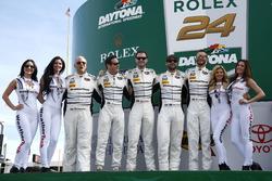 #44 Magnus Racing Audi R8 LMS : John Potter, Andy Lally, Marco Seefried, René Rast