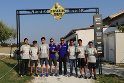 Les participants au Yamaha VR46 Master Camp au Ranch