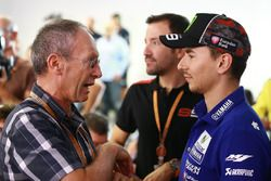 Christian Sarron et Jorge Lorenzo, Yamaha Factory Racing