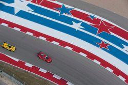 #62 Risi Competizione, Ferrari 488 GTE: Toni Vilander, Giancarlo Fisichella; #85 JDC/Miller Motorspo