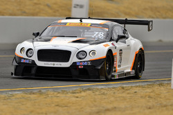#78 Bentley Team Absolute Bentley Continental GT3: Andrew Kim