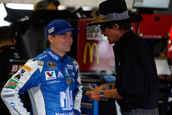 Jeff Gordon, Hendrick Motorsports, Chevrolet; Richard Petty