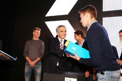 Daniil Kvyat, Scuderia Toro Rosso at an Inter event