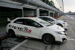La Honda Civic -TCS 2.0 di Roberto Colciago, AGS,