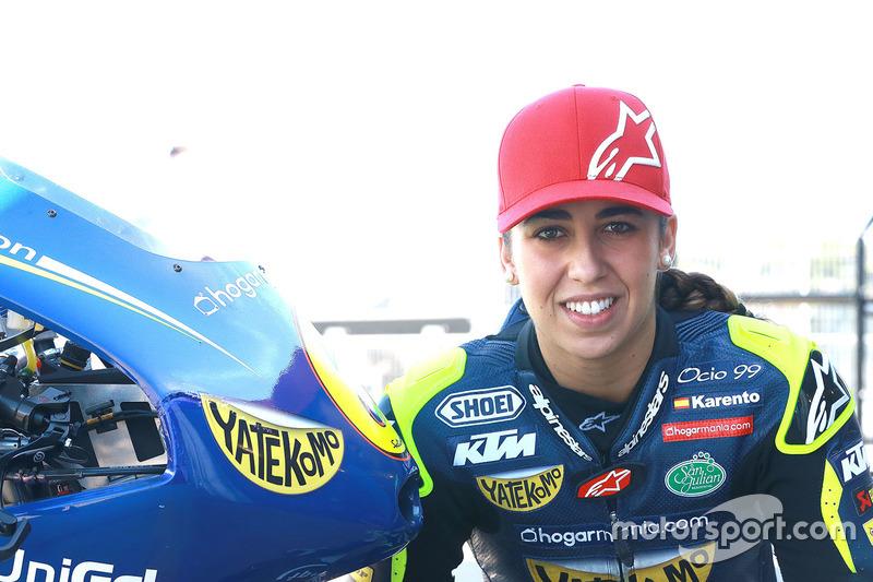 Maria Herrera, pembalap Moto3