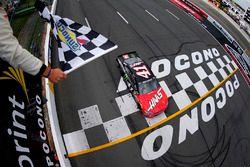 Sieg für Kurt Busch, Stewart-Haas Racing, Chevrolet