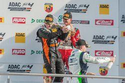 Podio: Jannes Fittje, US Racing; Joseph Mawson, Van Amersfoort Racing; Mick Schumacher, Prema Powert