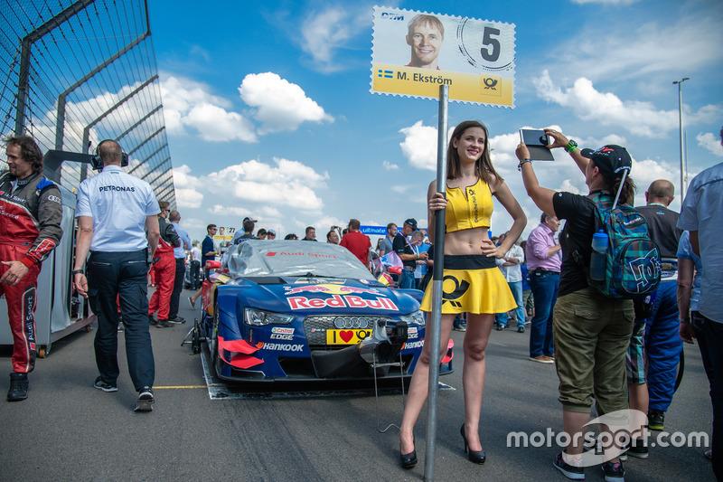 Mattias Ekström, Audi Sport Team Abt Sportsline, Audi A5 DTM, en een pitspoes