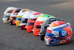 Cascos Bell, Romain Grosjean, Haas F1 Team