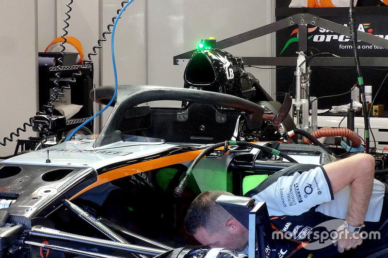 Halo kokpit, Nico Hulkenberg, Sahara Force India F1 VJM09