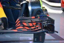 Red Bull Racing RB12, detalle alerón delantero