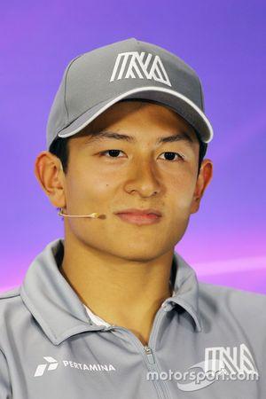 Pressekonferenz: Rio Haryanto, Manor Racing