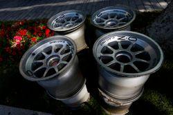 OZ Racing wheel rims in the paddock