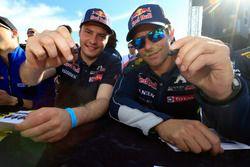 Davy Jeanney, Team Peugeot Hansen; Sébastien Loeb, Team Peugeot Hansen