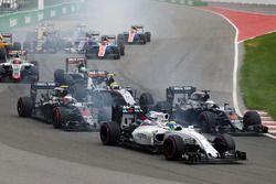 Felipe Massa, Williams FW38 au départ