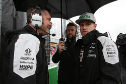 Nico Hülkenberg, Sahara Force India F1 sur la grille