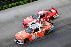 Kyle Busch, Joe Gibbs Racing Toyota, Ryan Reed, Roush Fenway Racing Ford
