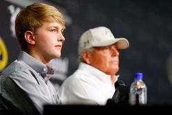 William Byron and Rick Hendrick