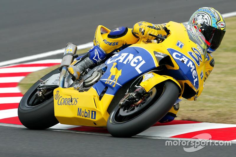 2003: Max Biaggi