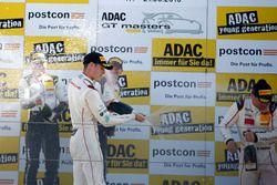 Podium: #17 KÜS TEAM 75 Bernhard, Porsche 911 GT3 R: David Jahn, Kévin Estre