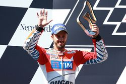 Podium, Andrea Dovizioso, Ducati Team, deuxième