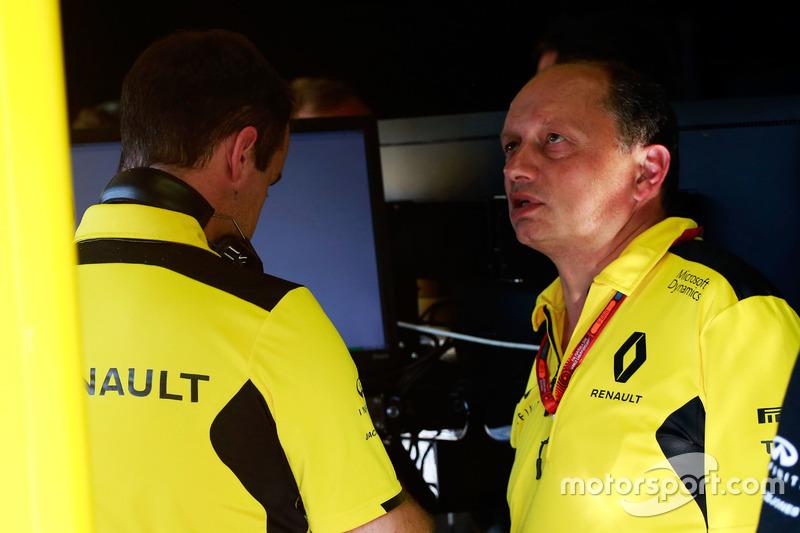 Frederic Vasseur, Direttore corse Renault Sport F1 Team