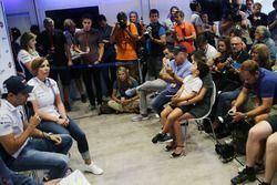 Felipe Massa, Williams, anuncia su retiro de la F1, Claire Williams, Williams, su familia en la prim
