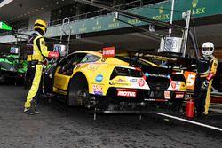#50 Larbre Competition, Corvette C7.R: Ricky Taylor, Yutaka Yamagishi, Pierre Ragues