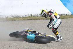 Iker Lecuona, CarXpert Interwetten, crash