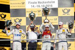 Подиум: победитель в гонке Эдоардо Мортара, Audi Sport Team Abt Sportsline, Audi RS 5 DTM; Кристиан Фиторис, Mercedes-AMG Team Mücke, Mercedes-AMG C63 DTM; Пол ди Реста, Mercedes-AMG Team HWA, Mercedes-AMG C63 DTM