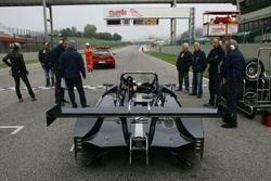 Davide Uboldi, Eurointernational, Ligier JS Evo 2 E CN2 in griglia di partenza