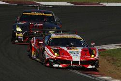 #51 LM corsa Ferrari 488 GT3: Akihiro Tsuzuki, Morio Nitta