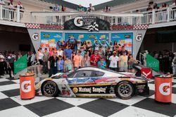 Podium: ganadores, Joao Barbosa, Christian Fittipaldi, Action Express Racing, segundo, Eric Curran,