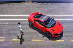 Stoffel Vandoorne, Honda NSX testi