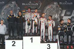 Podium : les vainqueurs #33 Belgian Audi Club Team WRT Audi R8 LMS GT3: Enzo Ide, Christopher Mies, les deuxièmes, #58 Garage 59 McLaren 650S GT3: Rob Bell, Alvaro Parente, les troisièmes, #28 Belgian Audi Club Team WRT Audi R8 LMS Ultra: Will Stevens, René Rast