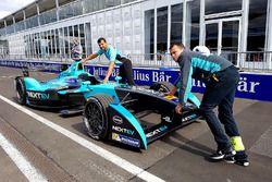 La voiture de Nelson Piquet Jr., NEXTEV TCR Formula E Team