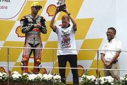 Podium: Aki Ajo, Ajo Motorsport Team Principal