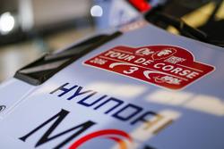 Thierry Neuville, Nicolas Gilsoul, Hyundai i20 WRC, Hyundai Motorsport, detale del auto
