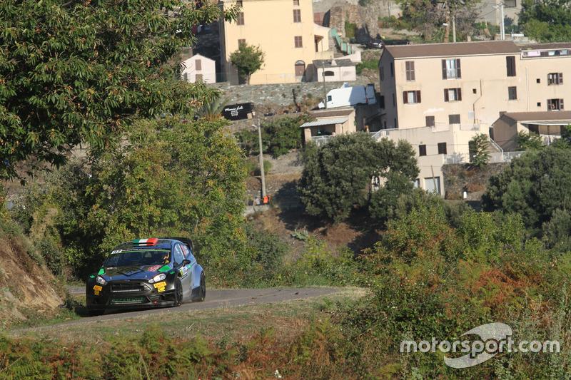 Lorenzo Bertelli, Simone Scattolin, Ford Fiesta WRC, F.W.R.T.