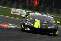 #32 Antonelli Motorsport Lamborghini Huracan Super Trofeo: Omar Galbiati, Kikko Galbiati