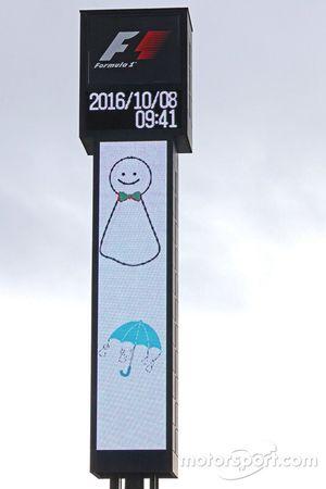 Track atmosphere, rain forecast