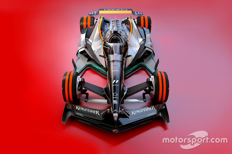 Force India 2030 fantasy design