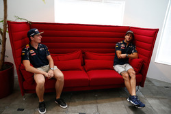 Daniel Ricciardo y Max Verstappen, Red Bull Racing