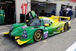 #13 Inter Europol Competition Ligier JSP3 - Nissan: Jakub Smiechowski, Martin Hippe