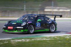 #45 Artthea Sport Porsche 991 GT America: Klaus Werner, Nanna Götsche, Martin Götsche