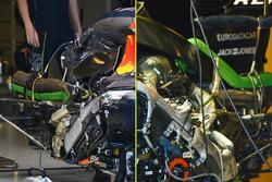 Détail du moteur de la Red Bull Racing