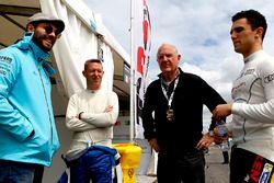 Stefano Comini, Leopard Racing; Luca Rangoni, Top Run Motorsport; Loris Hezemans, Baporo Motorsport