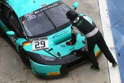 #29 Konrad Motorsport, Lamborghini Huracan GT3: Christopher Zöchling, Jules Gounon, Christopher Brüc